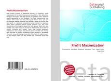 Bookcover of Profit Maximization