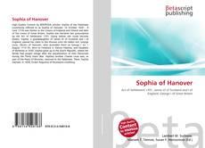 Bookcover of Sophia of Hanover