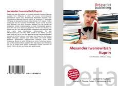 Capa do livro de Alexander Iwanowitsch Kuprin