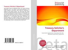 Bookcover of Treasury Solicitor's Department