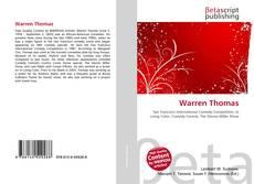 Bookcover of Warren Thomas