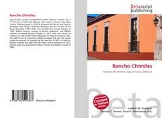 Portada del libro de Rancho Chimiles