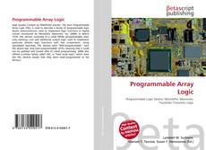 Bookcover of Programmable Array Logic