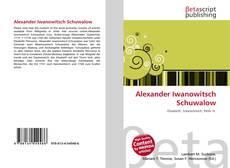 Обложка Alexander Iwanowitsch Schuwalow