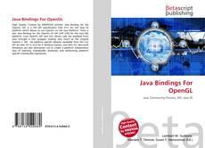 Bookcover of Java Bindings For OpenGL