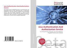 Bookcover of Java Authentication And Authorization Service