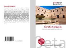Capa do livro de Rancho Collayomi