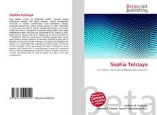 Bookcover of Sophia Tolstaya