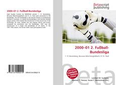 Bookcover of 2000–01 2. Fußball-Bundesliga