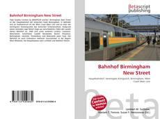 Capa do livro de Bahnhof Birmingham New Street