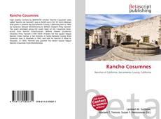 Capa do livro de Rancho Cosumnes