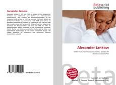 Bookcover of Alexander Jankow