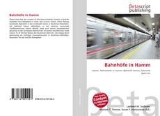 Buchcover von Bahnhöfe in Hamm