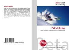 Bookcover of Patrick Rémy