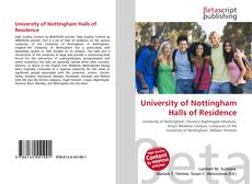 Couverture de University of Nottingham Halls of Residence
