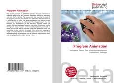 Capa do livro de Program Animation