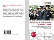University of Nottingham Students' Union的封面