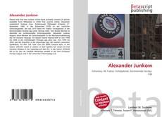 Bookcover of Alexander Junkow