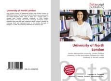 University of North London的封面