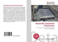 Capa do livro de Alexander Jurjewitsch Fomitschew