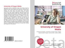 Capa do livro de University of Oregon Media