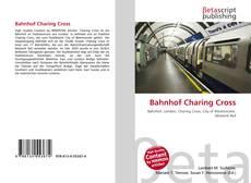 Bahnhof Charing Cross kitap kapağı