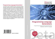 Обложка Programming Language Generations