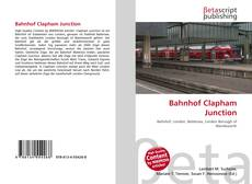 Bookcover of Bahnhof Clapham Junction