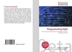 Borítókép a  Programming Style - hoz