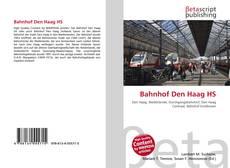 Обложка Bahnhof Den Haag HS