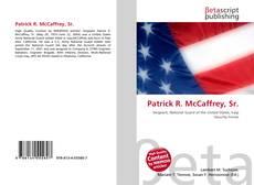 Capa do livro de Patrick R. McCaffrey, Sr.