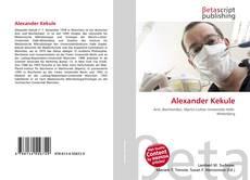 Bookcover of Alexander Kekule