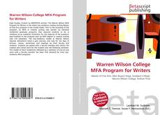 Borítókép a  Warren Wilson College MFA Program for Writers - hoz