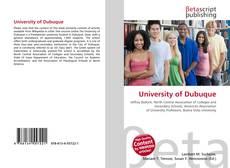 Portada del libro de University of Dubuque