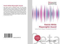 Portada del libro de Patrick White Playwrights' Award