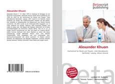 Bookcover of Alexander Khuon