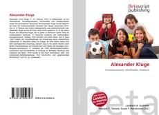 Portada del libro de Alexander Kluge