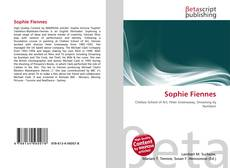 Bookcover of Sophie Fiennes
