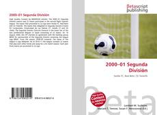 Portada del libro de 2000–01 Segunda División