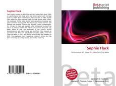 Buchcover von Sophie Flack