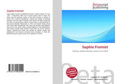 Bookcover of Sophie Fremiet