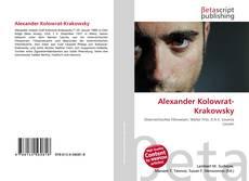 Alexander Kolowrat-Krakowsky kitap kapağı