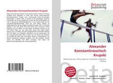 Обложка Alexander Konstantinowitsch Krupski