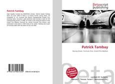 Bookcover of Patrick Tambay