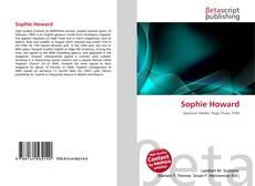 Couverture de Sophie Howard