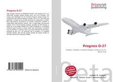 Progress D-27 kitap kapağı