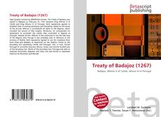 Buchcover von Treaty of Badajoz (1267)