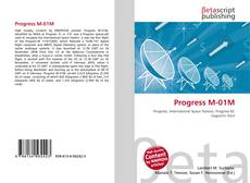 Copertina di Progress M-01M