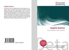 Bookcover of Sophie Katinis