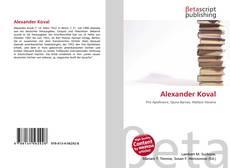 Portada del libro de Alexander Koval